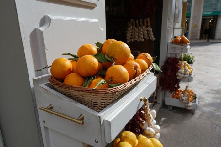Palma-Orangen-Altstadt
