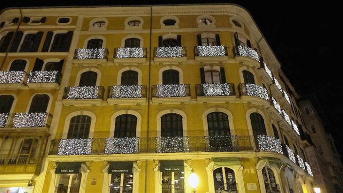 Weihnachten-Palma-Beleuchtung