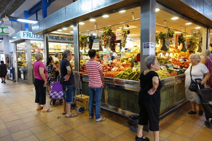 Markt-Pere-Garau-Innenstand
