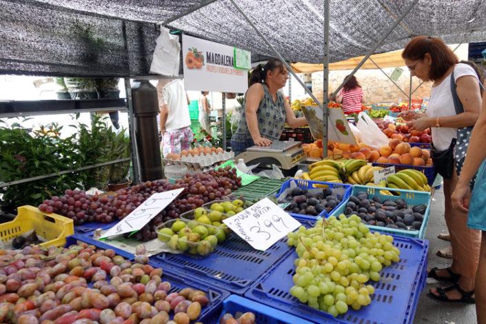 Markt-Pere-Garau-Weintrauben